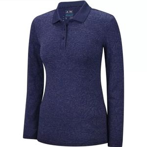 New Adidas Golf Polo long Sleeve Shirt Top sz M